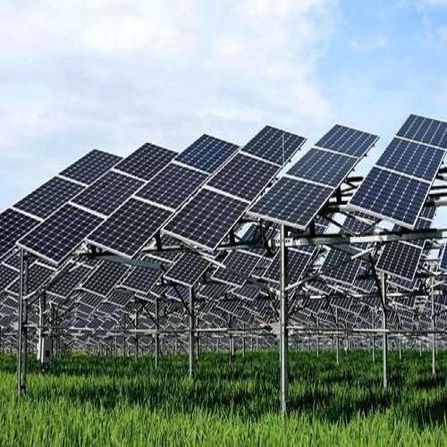 Photovoltaics  sun oriented warm