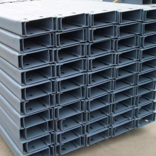 Fixed angle C profile steel Features