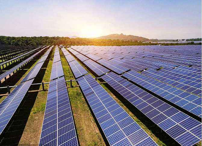 The solar industry develop rapidly