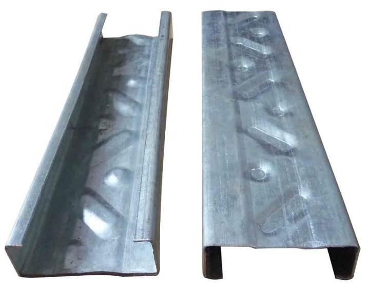 Galvanized steel 8 inch c purlin